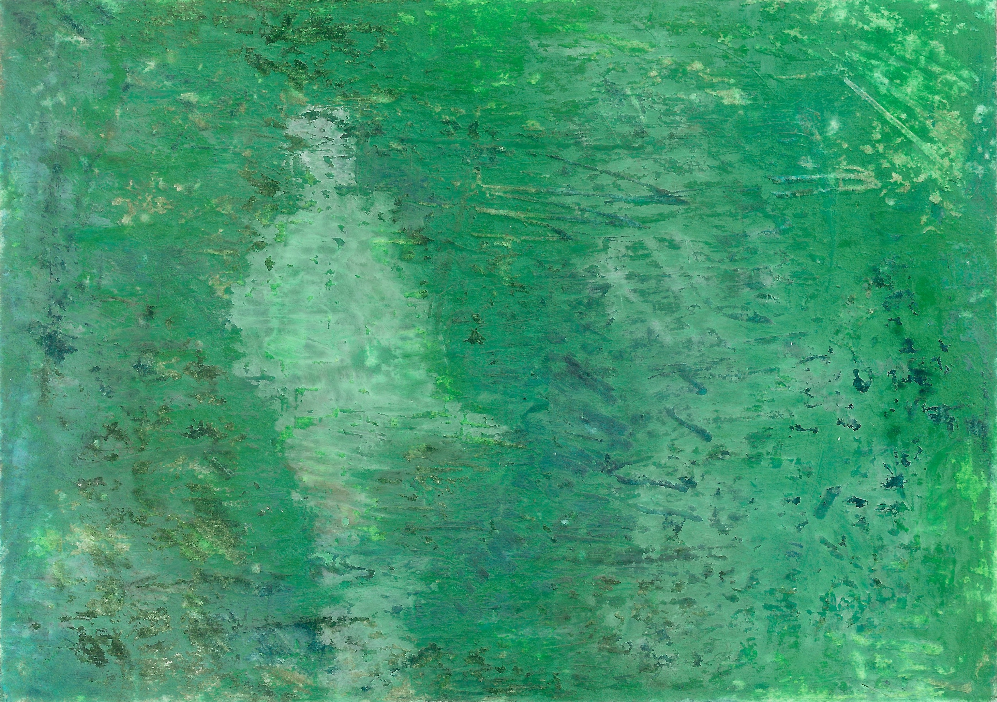 abstract postcard (white on green I)_27.07.2018