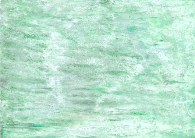abstract postcard (white on green II)_01.08.2018